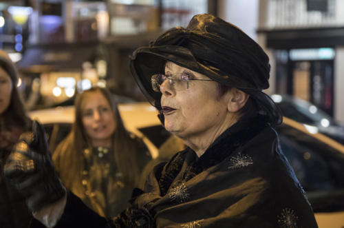 Chester Ghost tour guide Mary Ann Cameron