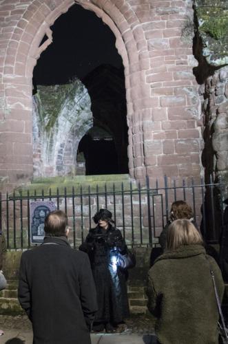 Chester Ghost tour St John's Church ruins